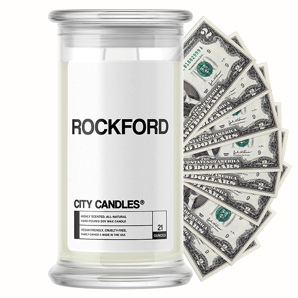 Rockford City Cash Candle