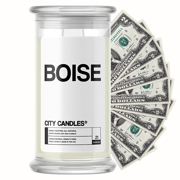 Boise City Cash Candle