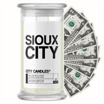Sioux City City Cash Candle