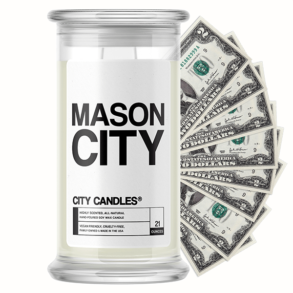 Mason City City Cash Candle