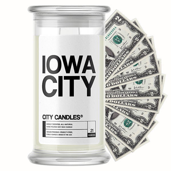 Iowa City City Cash Candle
