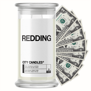 Redding City Cash Candle