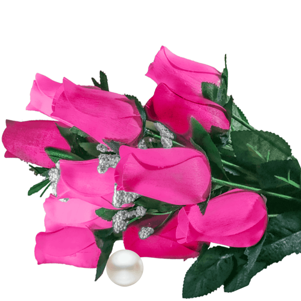 Pink Bouquet Pearl Roses
