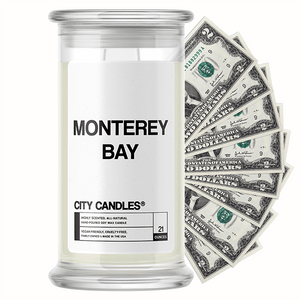 Monterey Bay City Cash Candle