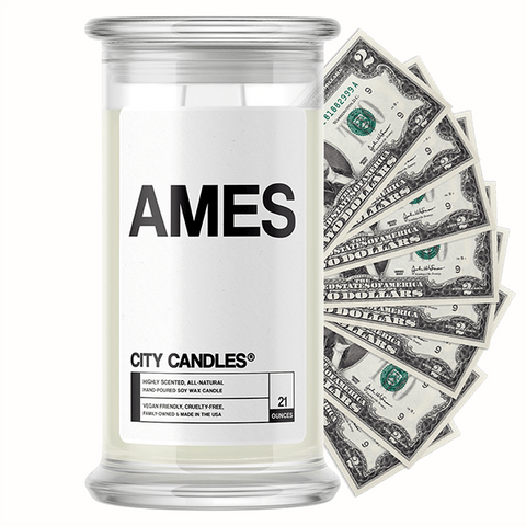 Ames City Cash Candle