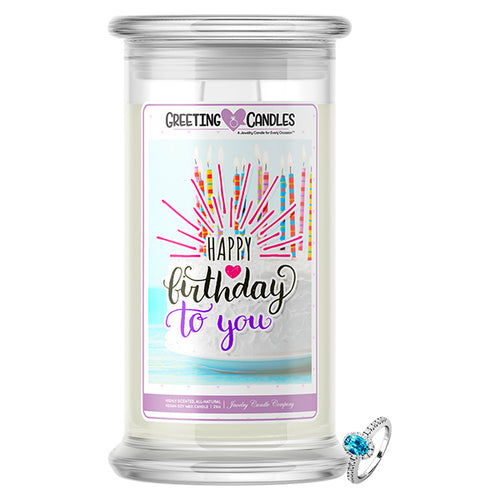 Happy Birthday To You Jewelry Greeting Cards Candles