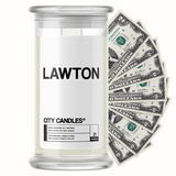 Lawton City Cash Candle