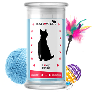 I love my Bengal | Must Love Cats® Candle-Must Love Cats® Candle-The Official Website of Jewelry Candles - Find Jewelry In Candles!