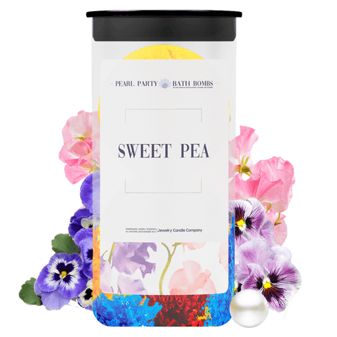 Sweet Pea Pearl Party Bath Bombs Twin Pack