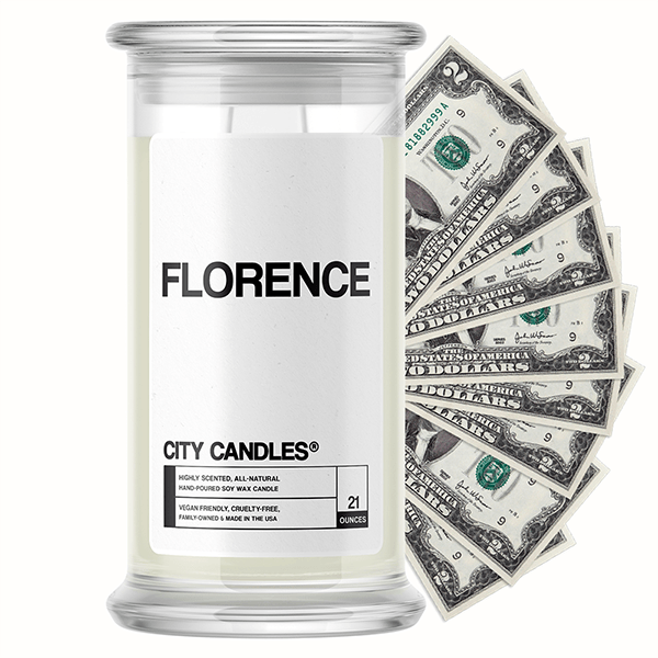 Florence City Cash Candle