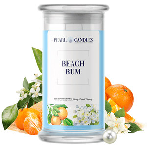 Beach Bum | Pearl Candle®-Pearl Candles®-The Official Website of Jewelry Candles - Find Jewelry In Candles!