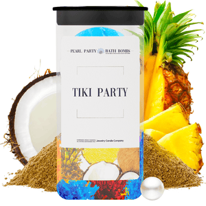 Tiki Party Pearl Party Bath Bombs Twin Pack