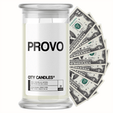 Provo City Cash Candle