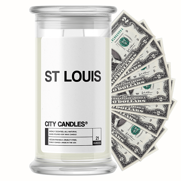 St Louis City Cash Candle