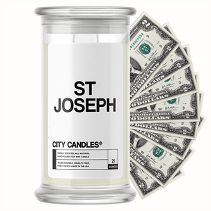 St Joseph City Cash Candle