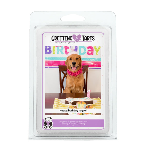 Happy Barkday To You! | Greeting Tart-Greeting Tarts-The Official Website of Jewelry Candles - Find Jewelry In Candles!