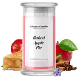 Baked Apple Pie | Charm Candle®-Charm Candles®-The Official Website of Jewelry Candles - Find Jewelry In Candles!