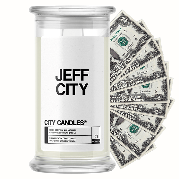 Jeff City City Cash Candle