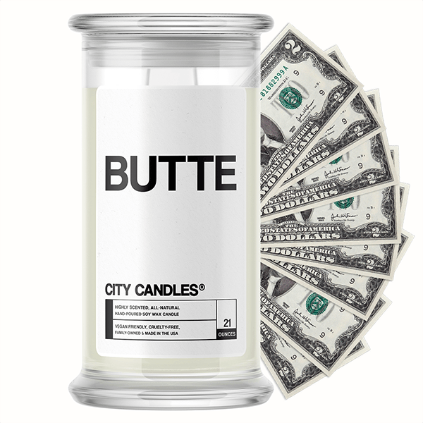 Butte City Cash Candle