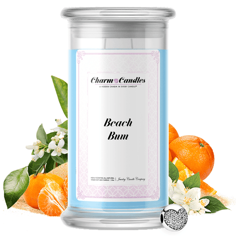 Beach Bum | Charm Candle®-Charm Candles®-The Official Website of Jewelry Candles - Find Jewelry In Candles!