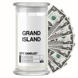 Grand Island City Cash Candle