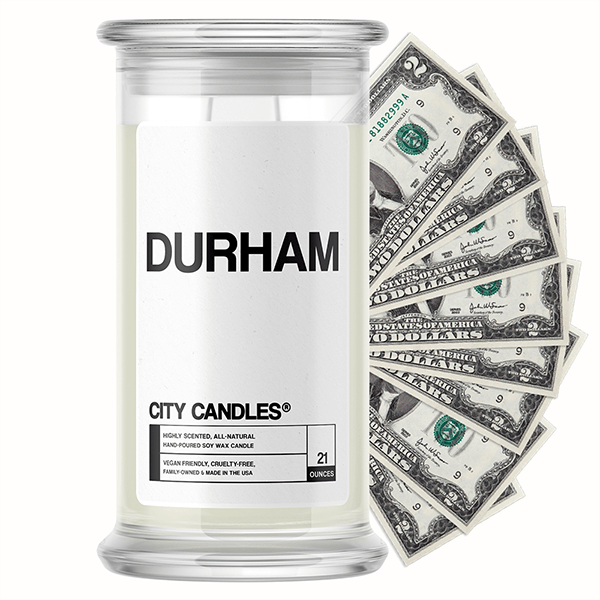 Durham City Cash Candle