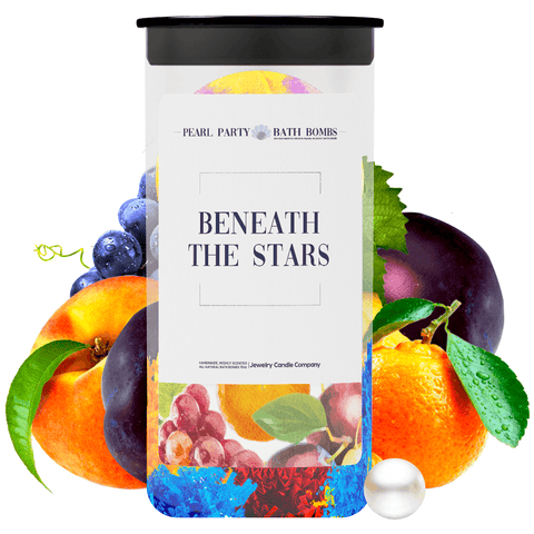 Beneath The Stars Pearl Party Bath Bombs Twin Pack