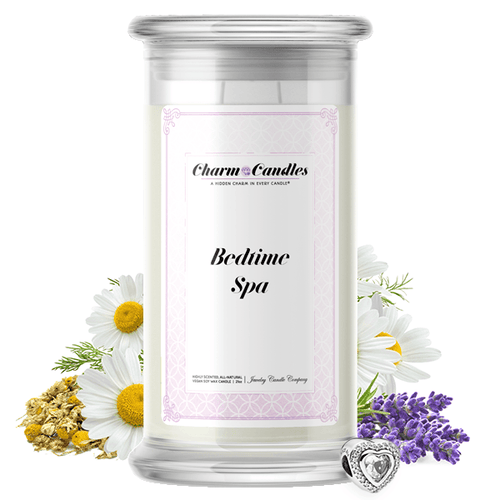 Bedtime Spa | Charm Candle®-Charm Candles®-The Official Website of Jewelry Candles - Find Jewelry In Candles!