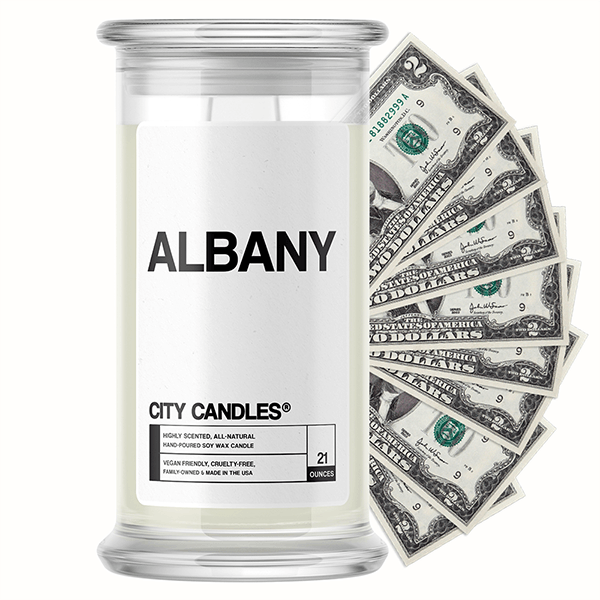 Albany | City Cash Candle®