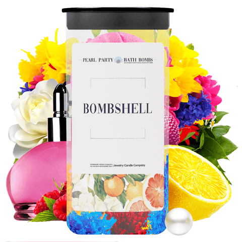 Bombshell Pearl Party Bath Bombs Twin Pack