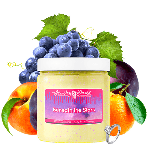 Beneath The Stars | Jewelry Slime®-Jewelry Slime | A Jewelry Surprise In Every Jar of Slime-The Official Website of Jewelry Candles - Find Jewelry In Candles!