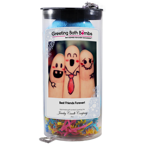 Best Friends Forever! | Greeting Bath Bombs®-Jewelry Bath Bombs-The Official Website of Jewelry Candles - Find Jewelry In Candles!