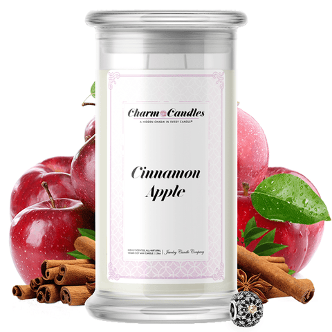 Cinnamon Apple | Charm Candle®-Charm Candles®-The Official Website of Jewelry Candles - Find Jewelry In Candles!