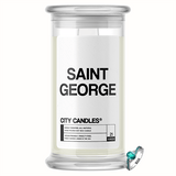 Saint George City Jewelry Candle