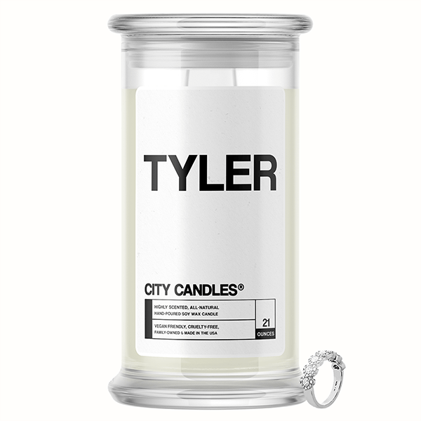 Tyler City Jewelry Candle
