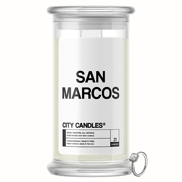San Marcos City Jewelry Candle