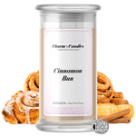 Cinnamon Bun | Charm Candle®-Charm Candles®-The Official Website of Jewelry Candles - Find Jewelry In Candles!