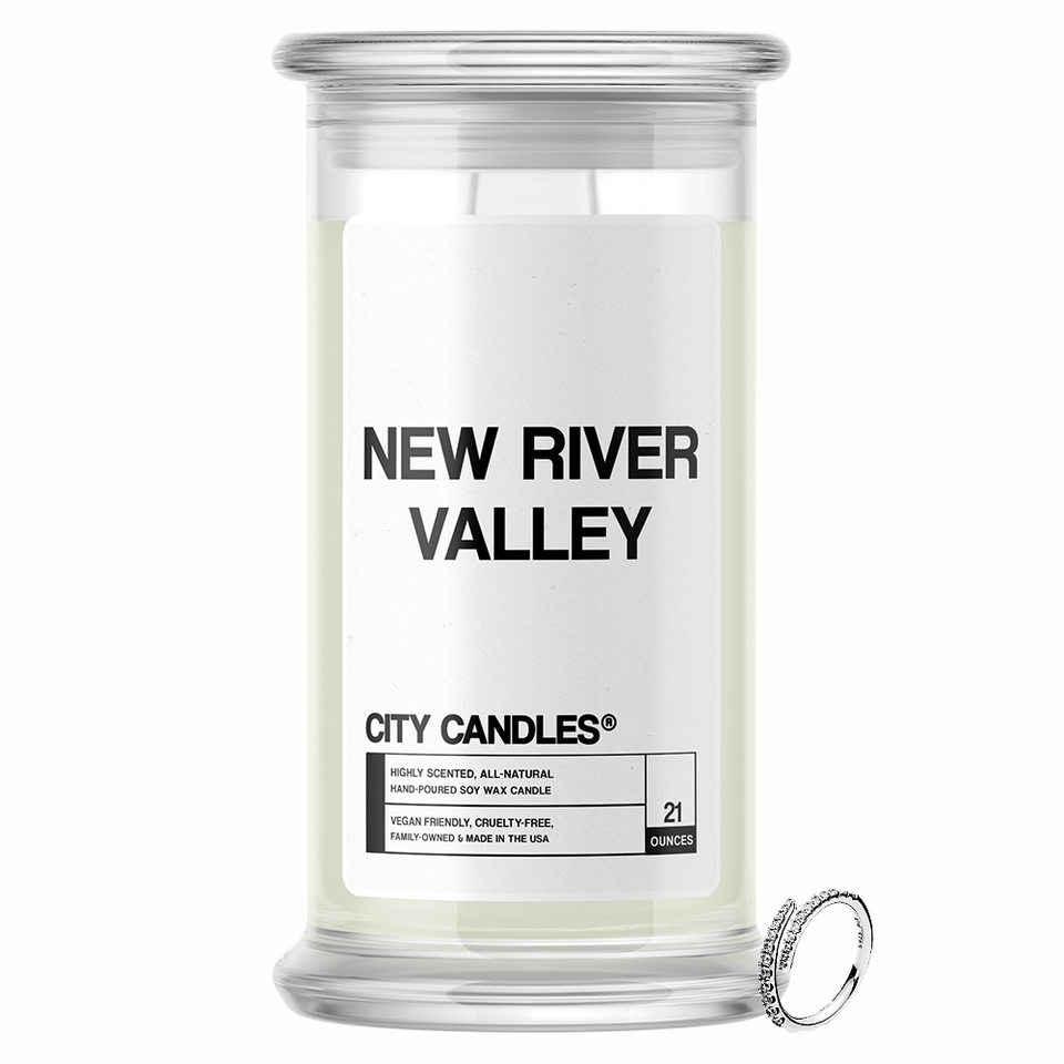 New River Valley City Jewelry Candle