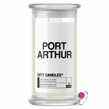 Port Arthur City Jewelry Candle