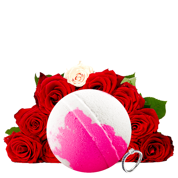 Fresh Cut Roses | Single Jewelry Bath Bomb®