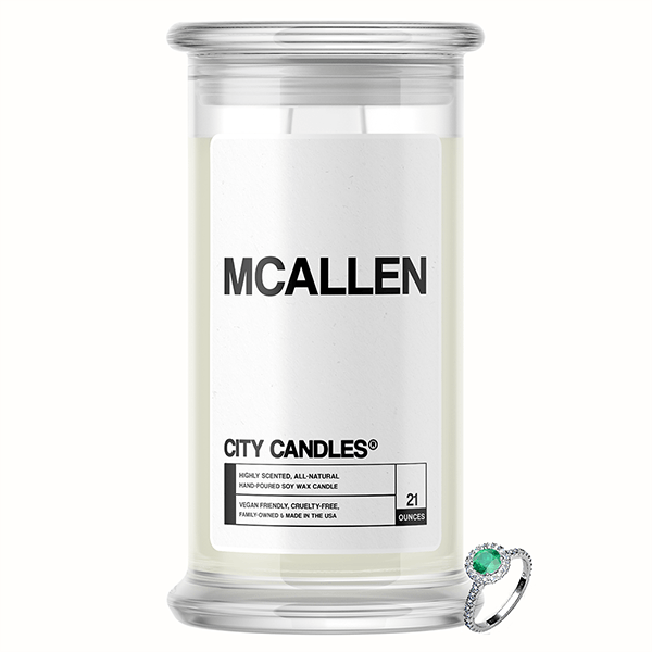 McAllen City Jewelry Candle