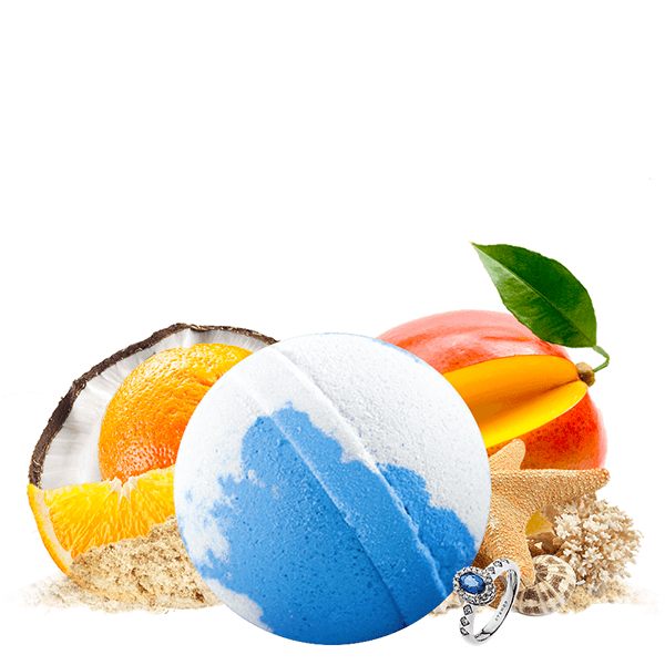 Coco Cabana | Single Jewelry Bath Bomb®