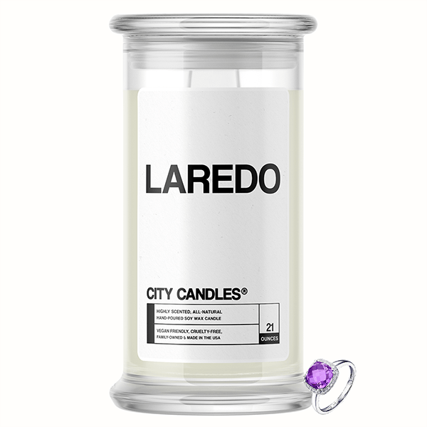 Laredo City Jewelry Candle