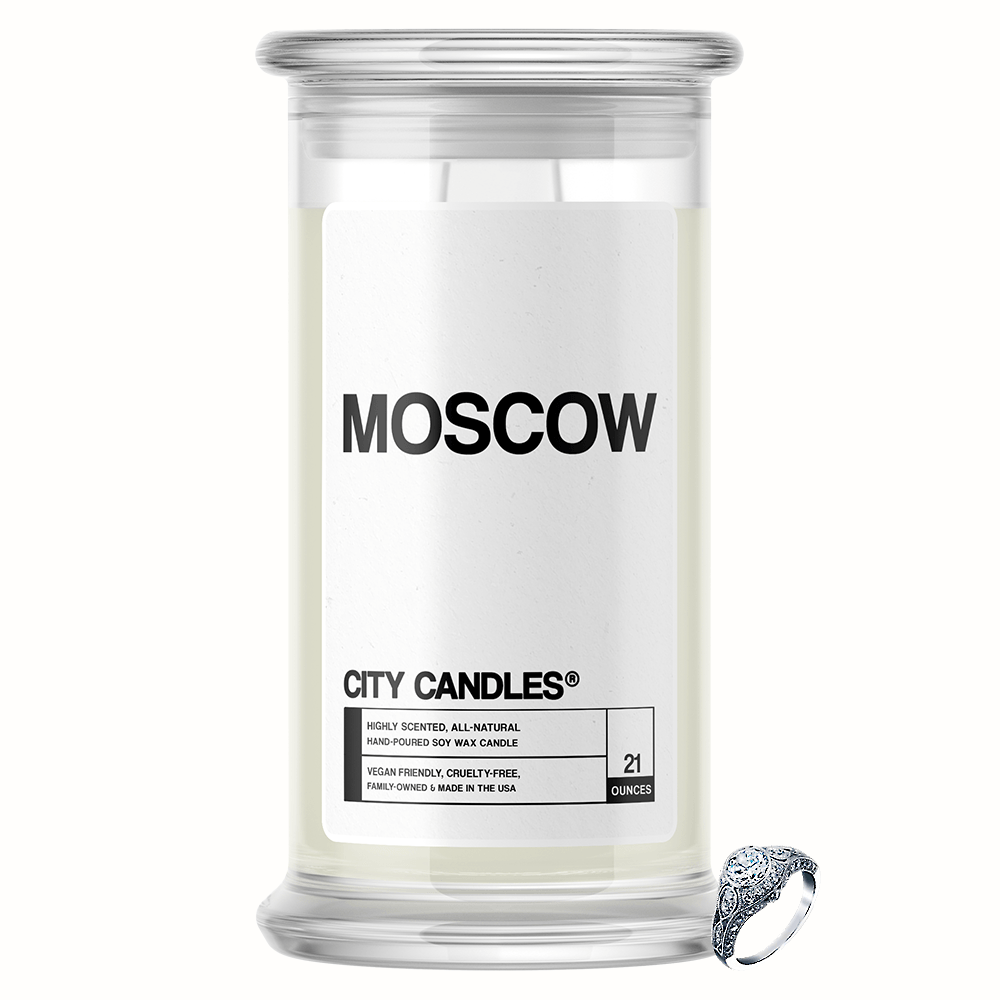 Moscow City Jewelry Candle