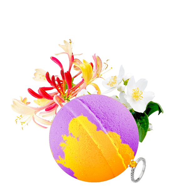 Honeysuckle Gardenia | Single Jewelry Bath Bomb®