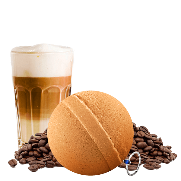 Café Latte | Single Jewelry Bath Bomb®