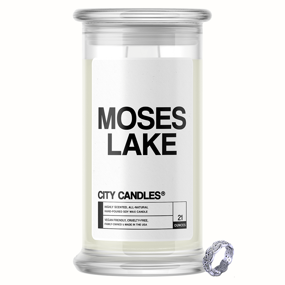 Moses Lake City Jewelry Candle
