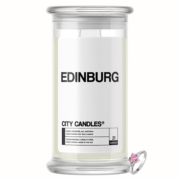 Edinburg City Jewelry Candle