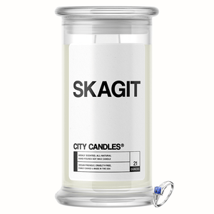 Skagit City Jewelry Candle