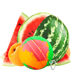 Pink Watermelon & Apricots | Single Jewelry Bath Bomb®